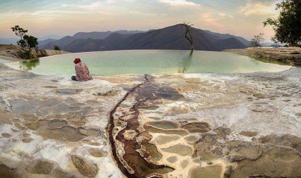La catarata petrificada de México