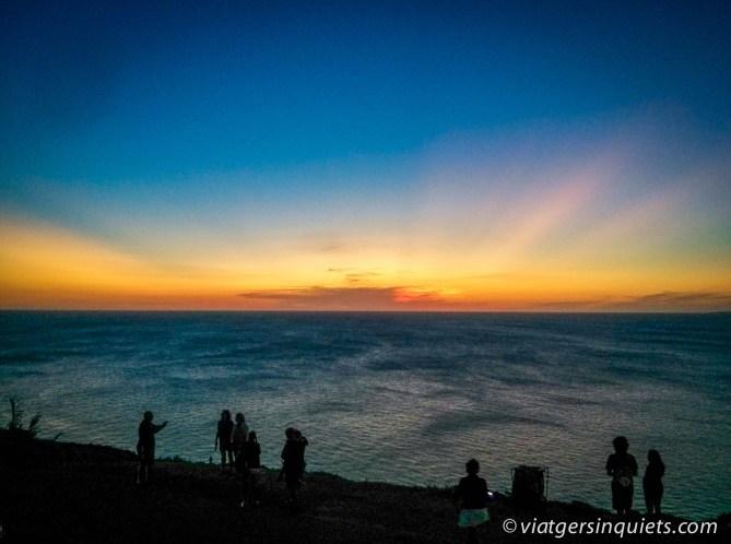 posta de sol Casapueblo