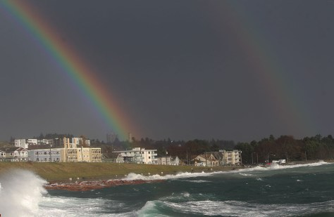Clover Point storm