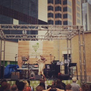I got to go to SXSW for a client event. And rad acts played, like The Dolls.