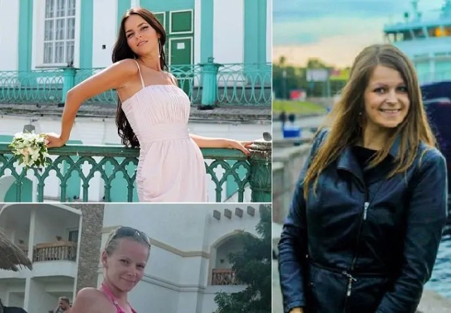 فاليريا بغدانوفا و يوليا بولييفا وأولغا شينا، من ضحايا الطائرة المنكوبة