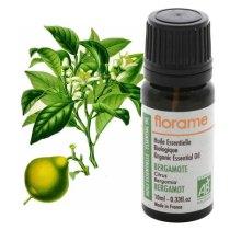 frasco de óleo essencial de bergamota produzido na França