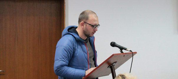 Андрій Саук на Виконкомі