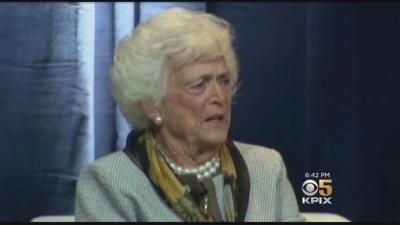 Former First Lady Barbara Bush Dies At Age 92 - One News Page VIDEO