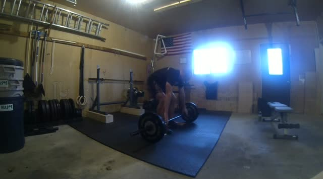 Power Snatches to Mats – 115#