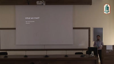 Dan Stefancu: Dependencies Management