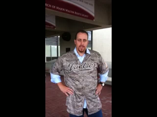 Stauffer, Harang and Gregerson visit Walter Reed