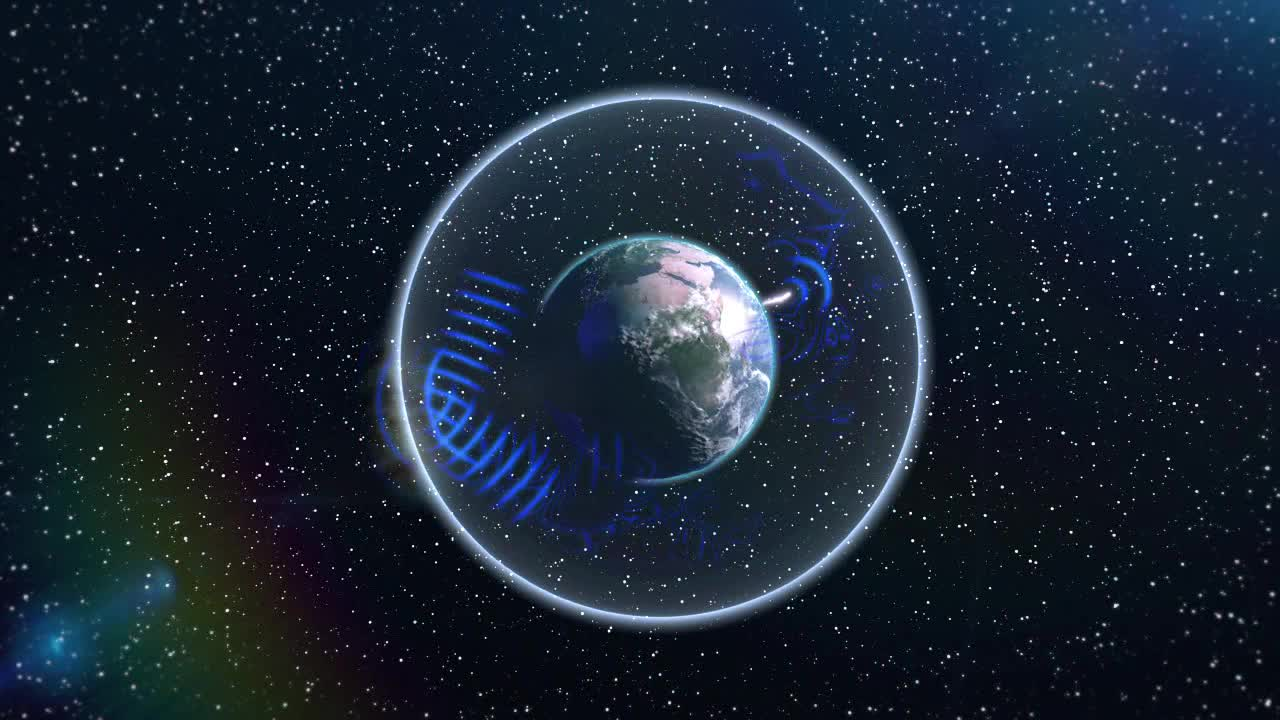 Schumann resonance animation, Source: Goddard Multimedia / Wikimedia