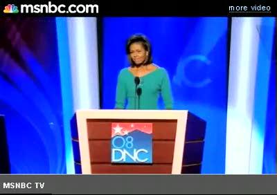 Michelle Obama DNC