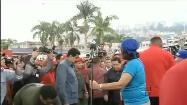 Maduro e Izarra