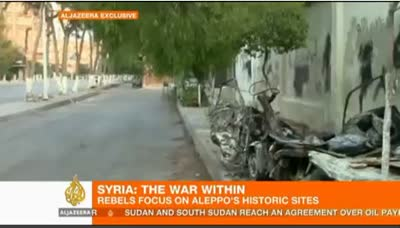 Syria Fighting Intensifies for Aleppo 08-05-12