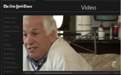 New York Times Interview with Jerry Sandusky 12-4-11