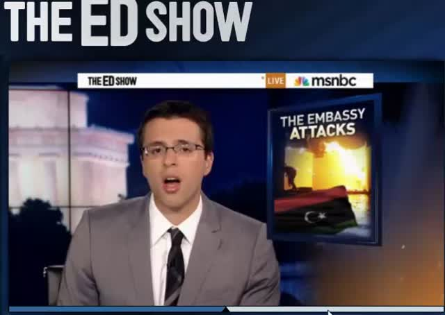 Edshow-Ezra Klein Attacks on Am Ambassadors