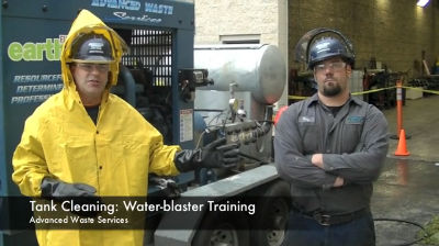 Waterblaster Training