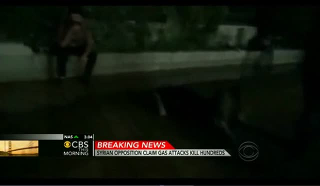 SYRIAN OPPOSITION VICTIMS OF CHEMICAL ATTACK