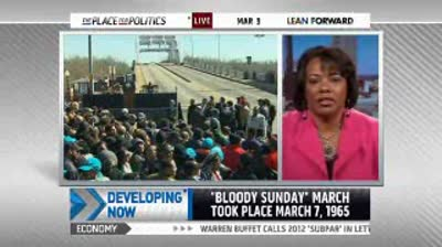 NBCNews.com video  Civil rights leaders make annual Selma march