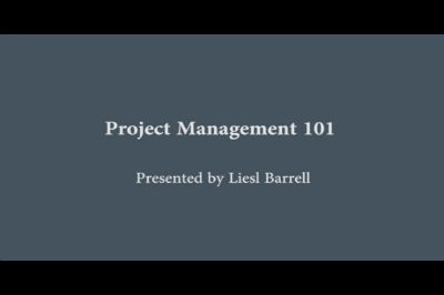 WC Toronto 2011 – PM101 – Project Management for Small Business