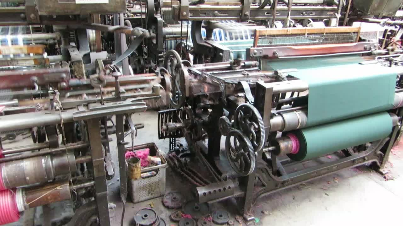 The Looms In Action