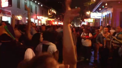 Quick Video of Bourbon Street