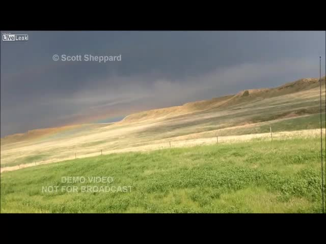 Storm Chaser Hit By Lightning