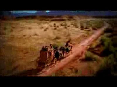 Runaway Stagecoach Mormon-Ad