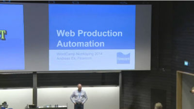 Andreas Ek: Web Production Automation