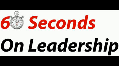 60 Seconds On Leadership – Dave Holt on Coaching