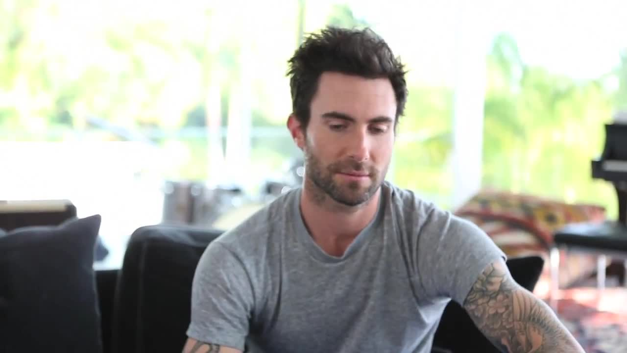 ADAM LEVINE x NYLON GUYS  BEHIND THE SCENES
