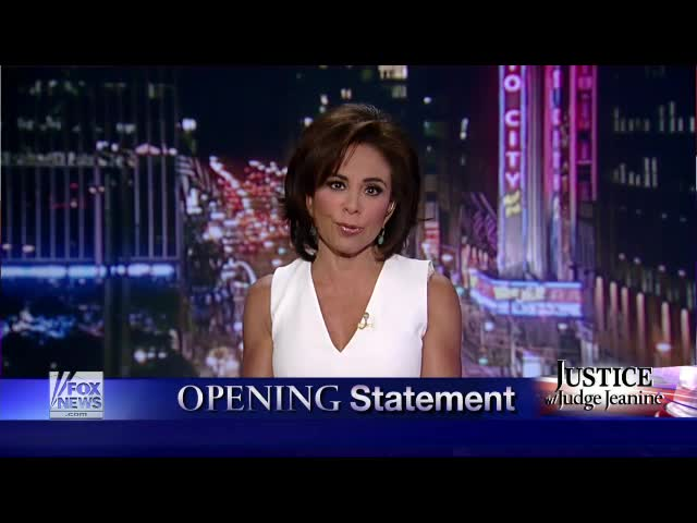 Judge Jeanine Pirro – Opening Statement 5.31.14