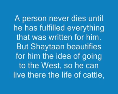 Shaykh Rabee on Hijrah to Britain