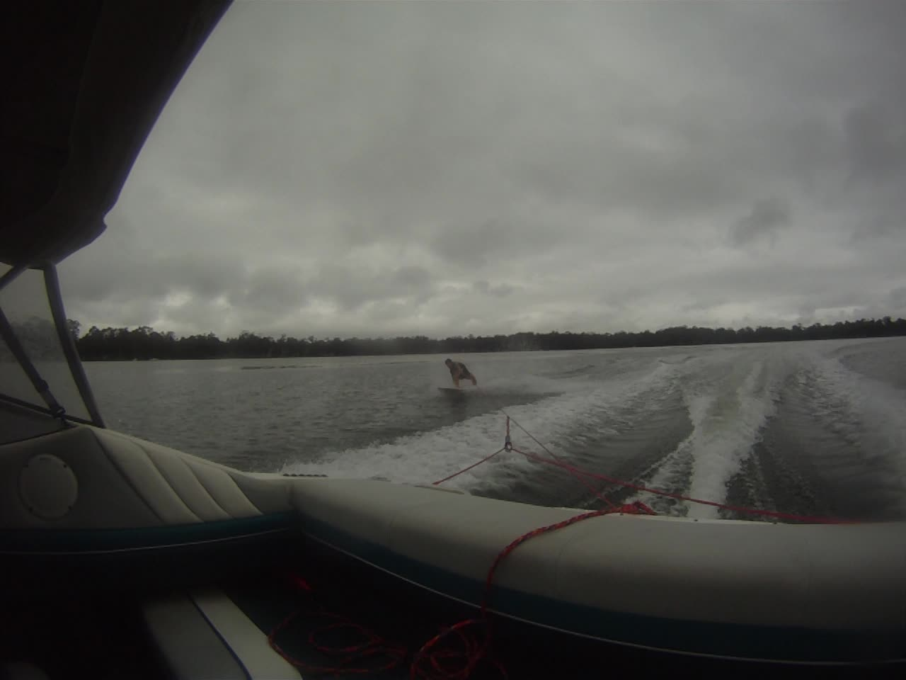 Wakesurfing Express Style