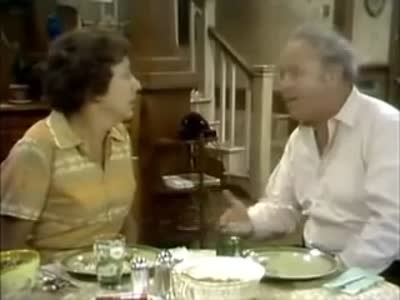 Edith Bunker and the Cling Peaches