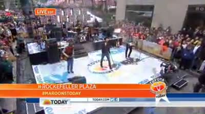 Maroon  5 on Today Show 14th June 2013