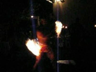 Samoan Fire Dancing