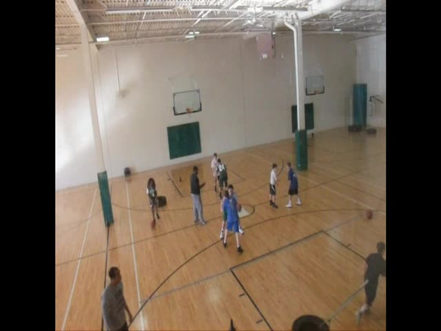Group Basketball Training Video