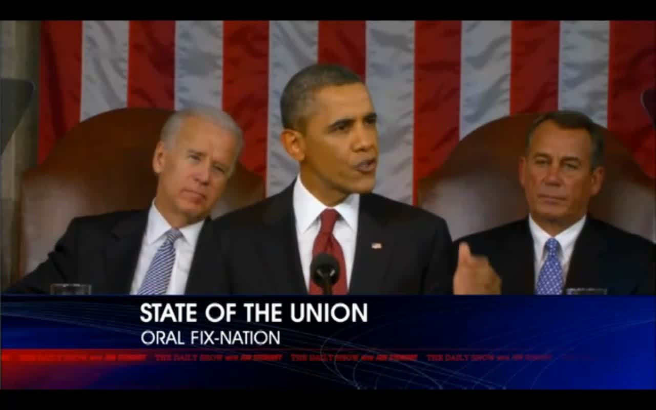Daily Show Jon Stewart STATE OF THE UNION