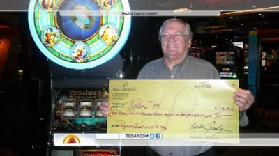 Man wins $7.2 million playing slots in friend's memory