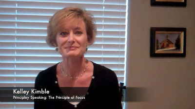Kimble:Principle of Focus