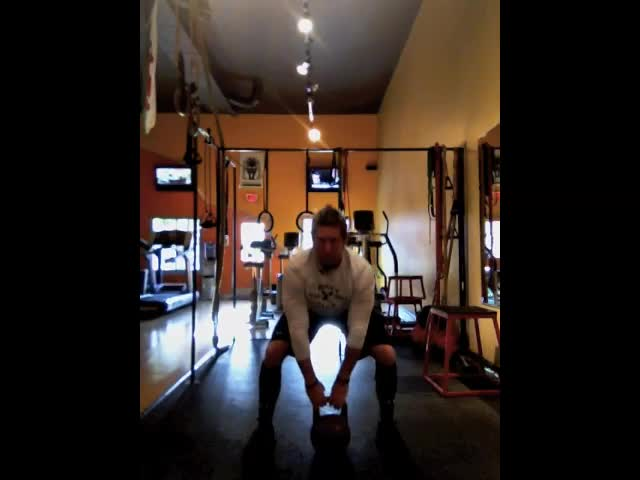 Demo &#8211; Squat Thrust Overhead High Pulls