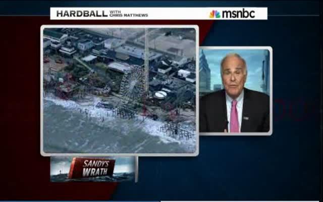 HARDBALL – PRESIDENT OBAMA AND GOV. CHRISTIE WORK TOGETHER