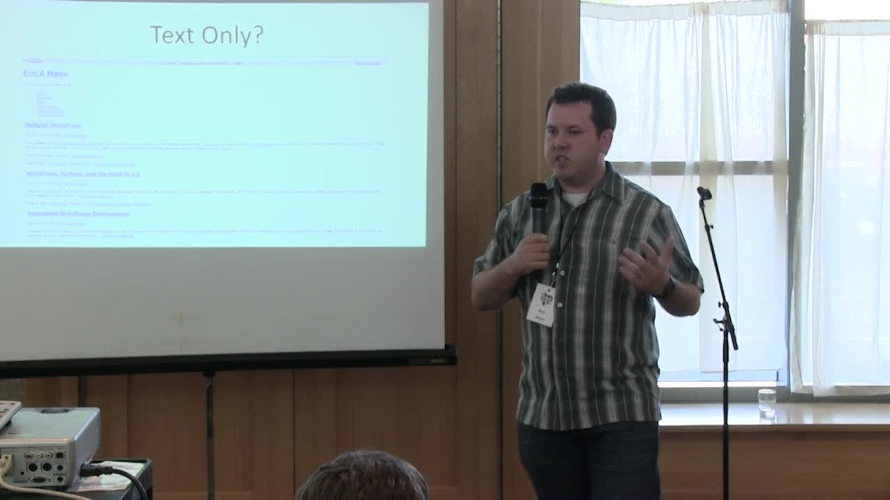 Eric Mann: Lightning Talk – The Future of WordPress Lies in the Past