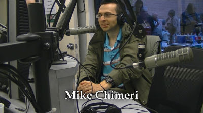Mike Chimeri with Bernie Bernard