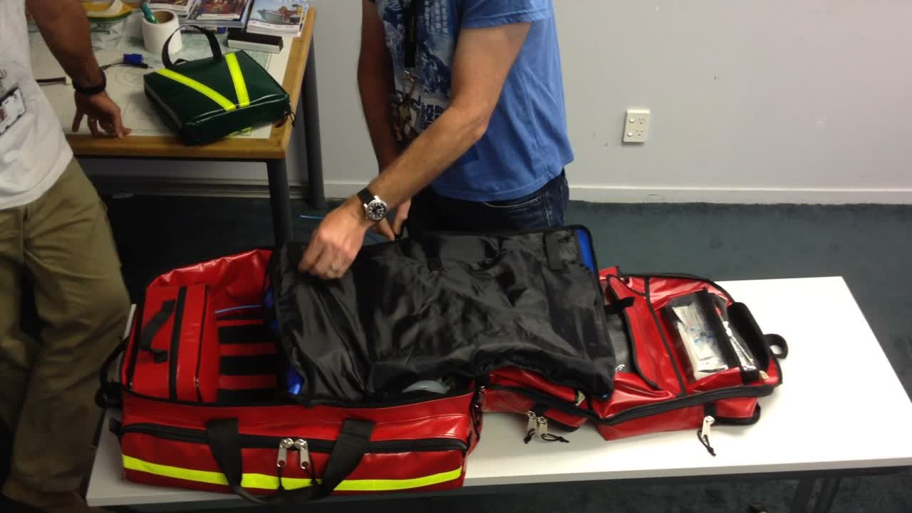 Auckland HEMS Medical Pack Ergonomics
