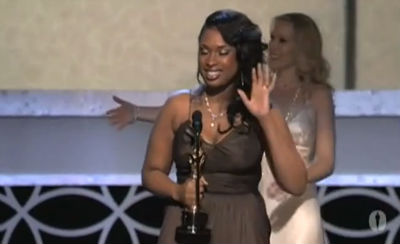 Jennifer Hudson Wins Best Supporting Actress
