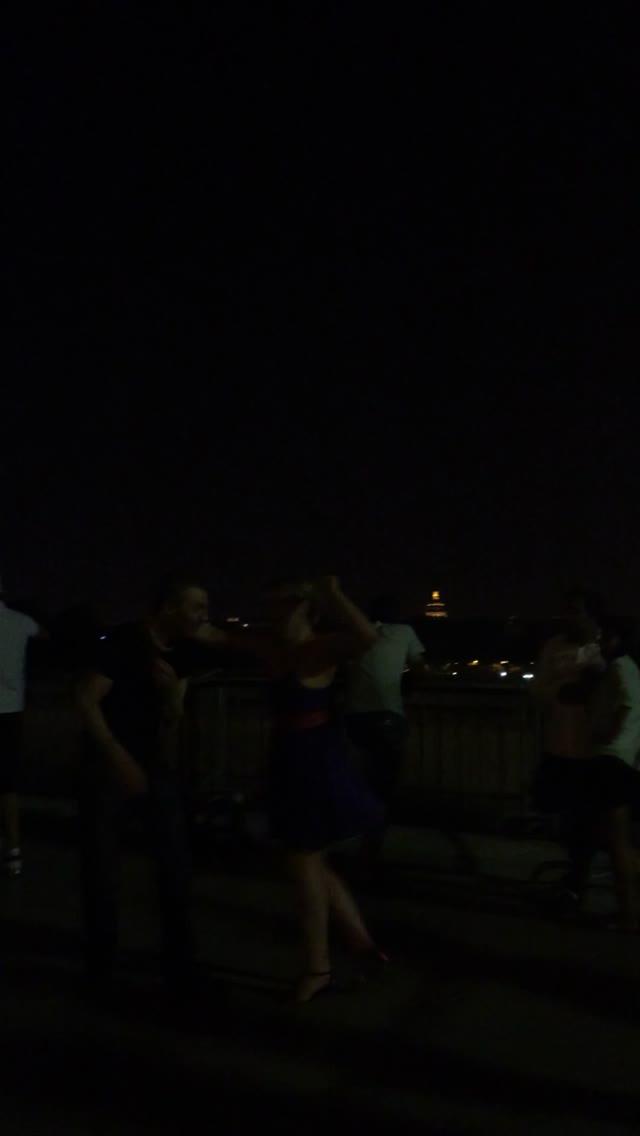 Eiffel tower video