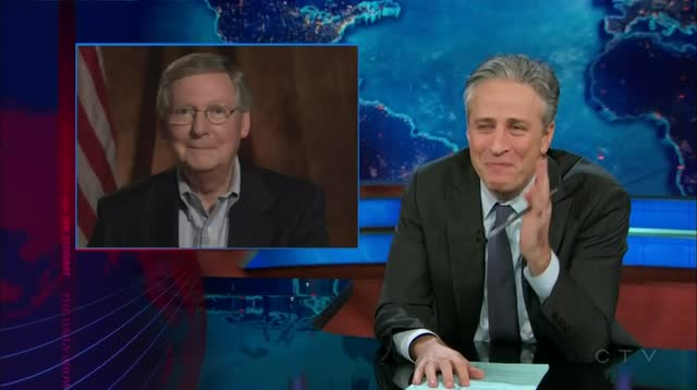 Daily Show – McConnelling