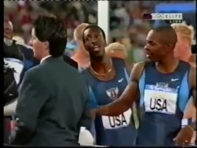 Sydney 2000 Olympics 4x400m men's Final