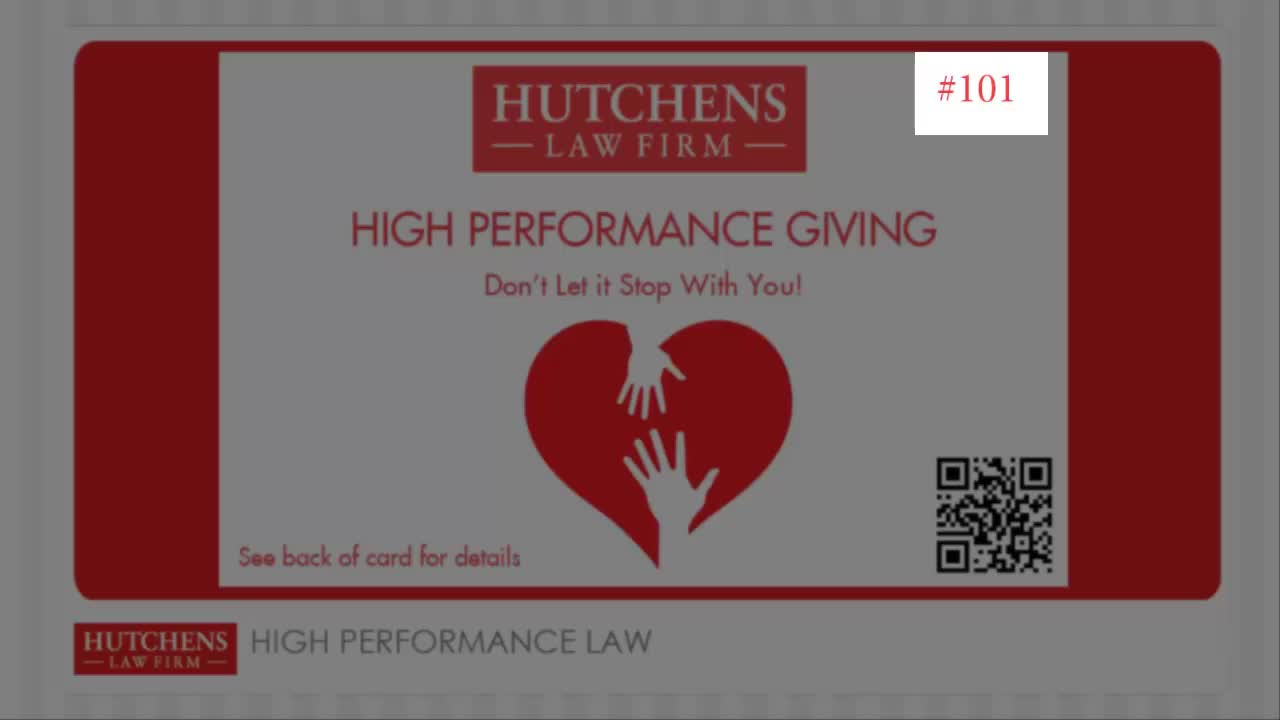 High Performance Giving video