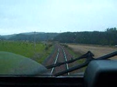Cab Ride in a HST