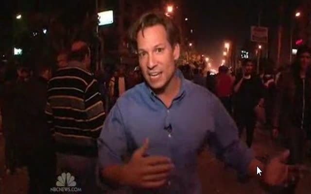 NBC NEWS – BRIAN WILLIAMS – CRISIS IN CAIRO